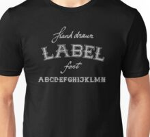 Vintage and retro fonts and alphabet letters Unisex T-Shirt