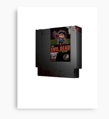 Evil Dead NES Canvas Print