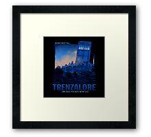 Trenzalore Framed Print