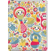 Cute and crazy. iPad Case/Skin