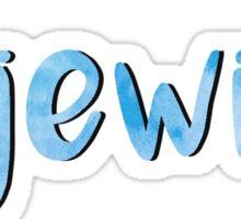 Jewish Sticker
