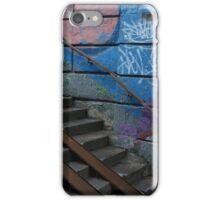 underground  stairs up iPhone Case/Skin