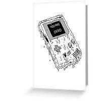 Deadboy (ORIGINAL NINTENDO GAMEBOY) Greeting Card