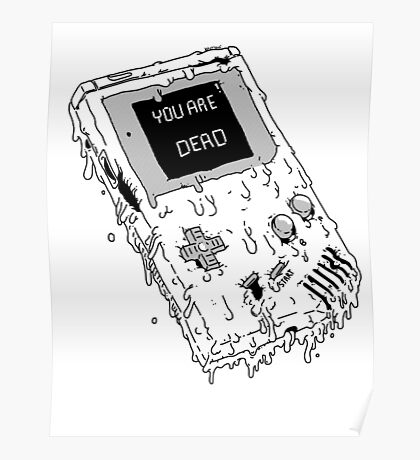 Deadboy (ORIGINAL NINTENDO GAMEBOY) Poster