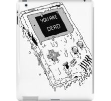 Deadboy (ORIGINAL NINTENDO GAMEBOY) iPad Case/Skin