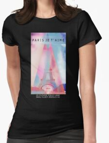Paris lover Womens Fitted T-Shirt