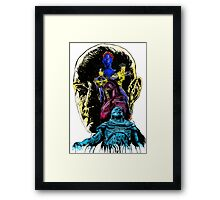 At War With A God: Apocalypse Framed Print