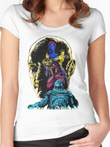 At War With A God: Apocalypse Women's Fitted Scoop T-Shirt