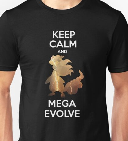 Keep Calm and MegaEvolve! AMPHAROS! Unisex T-Shirt