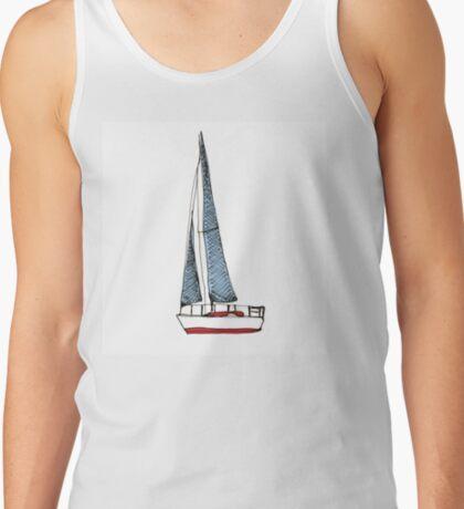 Sail Boat Tank Top