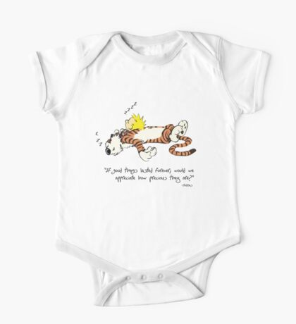 Calvin And Hobbes Quote One Piece - Short Sleeve