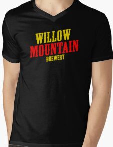 Willow mountain brewery Mens V-Neck T-Shirt