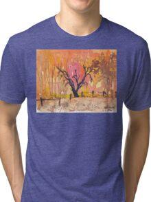 Winter fires Tri-blend T-Shirt