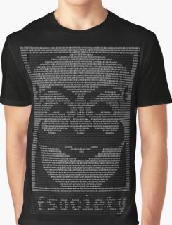 mr._robot_-_f.society.dat Graphic T-Shirt