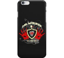 Milwaukee Most Wanted serial killers t-shirts iPhone Case/Skin
