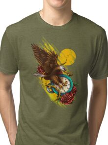Time Flies Tri-blend T-Shirt
