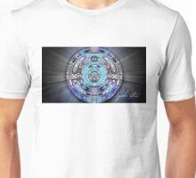 Mayan Happy Face Mandala Unisex T-Shirt