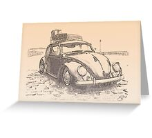 Bug at the bay Greeting Card