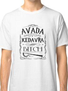 Avada kedavra harry potter Classic T-Shirt