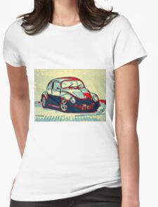 Retro concours Womens Fitted T-Shirt