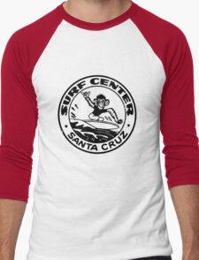Santa Cruz Surf Monkey Men's Baseball ¾ T-Shirt