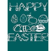 HAPPY EASTER - EASTER'S DAY Photographic Print