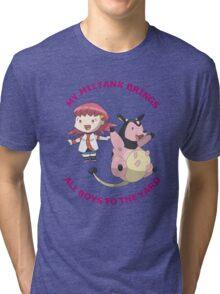 Miltank Tri-blend T-Shirt