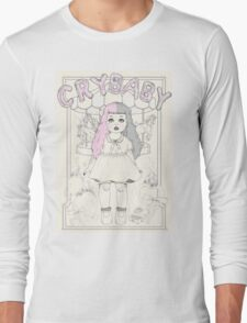 ♡ CRYBABY vintage illustration ♡:  Long Sleeve T-Shirt