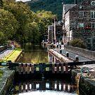Rochdale Canal by Irene  Burdell