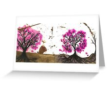 Outback blossoms Greeting Card