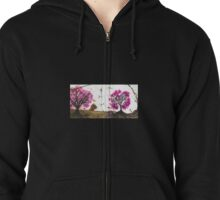 Outback blossoms Zipped Hoodie