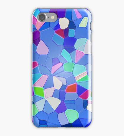 Colours Connect - Abstract iPhone Case/Skin