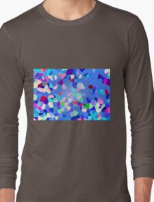 Colours Connect - Abstract Long Sleeve T-Shirt