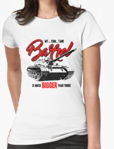 World of Tanks inspired work Womens Fitted T-Shirt