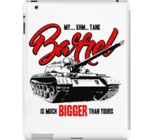 World of Tanks inspired work iPad Case/Skin