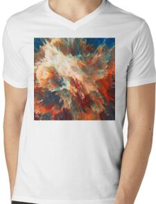 Abstract 49 Mens V-Neck T-Shirt