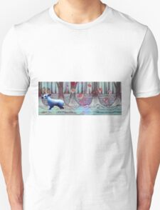 Blue Deer - Psychedelic Unisex T-Shirt