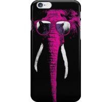 crazy elephant iPhone Case/Skin
