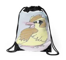 pidgey feathers Drawstring Bag