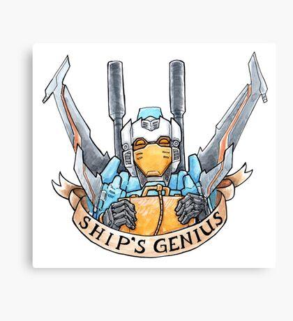 Ship's Genius Canvas Print