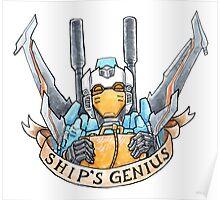 Ship's Genius Poster