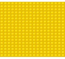 Lego (yellow) Photographic Print