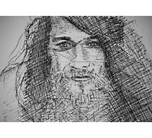 Ink Portrait Photographic Print
