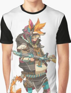 Fury Beats - Lily Slash Graphic T-Shirt