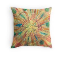 Ball Explosion Throw Pillow