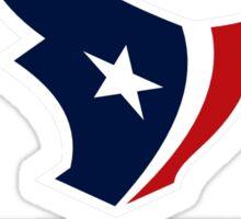 logo houston texans football Sticker