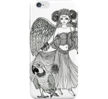 Macaw and His Muse iPhone Case/Skin