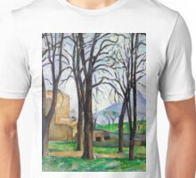 1893 - Paul Cezanne - Chestnut Trees at Jas de Bouffan Unisex T-Shirt