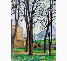1893 - Paul Cezanne - Chestnut Trees at Jas de Bouffan Unisex T-Shirt