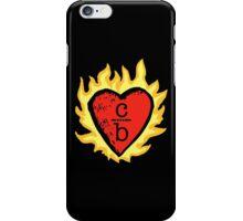 clothes over bros heart logo iPhone Case/Skin